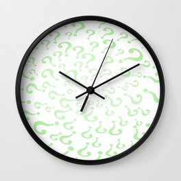 Riddle Wall Clock