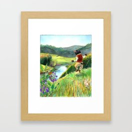 The First Day of Spring Framed Art Print