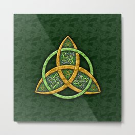 Celtic Trinity Knot Metal Print
