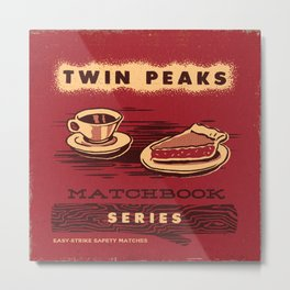 TWIN PEAKS MATCHBOOK SERIES Metal Print