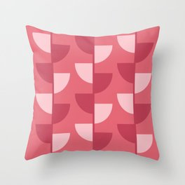 Strawberry Slices In The Summer Throw Pillow