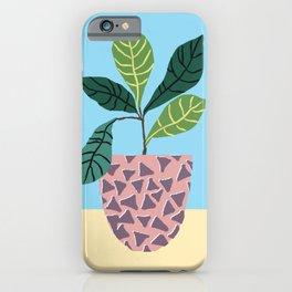 Avocado Plant iPhone Case