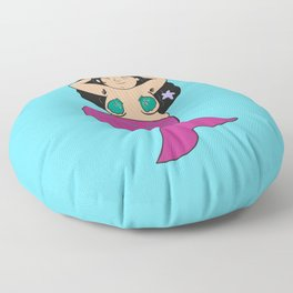 The mermaid of body positivity Floor Pillow