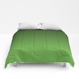 Green Ombré Gradient Comforters