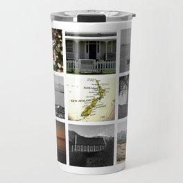 "KIWI square/ ""MAP"" Travel Mug"