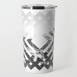 Geometric Mountains Travel Mug