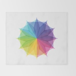Fig. 010 Colorful Star Shape Throw Blanket