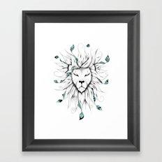 Poetic King Framed Art Print