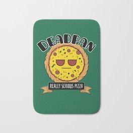 Deadpan - Really Serious Pizza Bath Mat