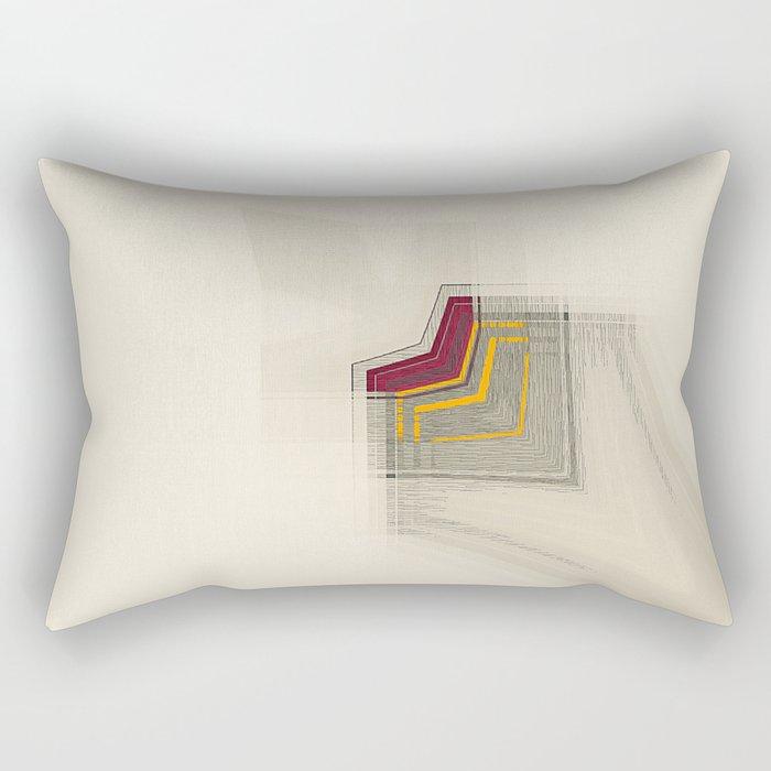 Geometric/Abstract RY Rectangular Pillow