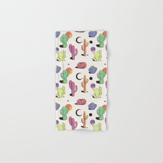 Joshua Tree Sunset Hand & Bath Towel