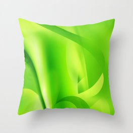 Emerald Dreams Throw Pillow