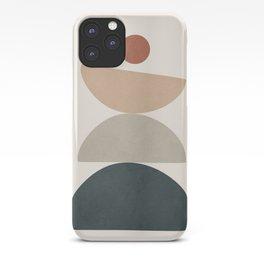 Minimal Shapes No.33 iPhone Case