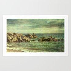 Rocky Paradise Art Print