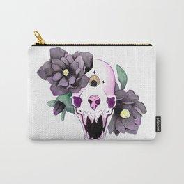 Vampire Bat Skull Carry-All Pouch