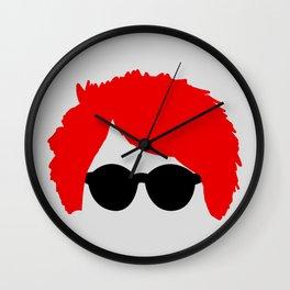 Gerard Way Red Hair & Glasses Wall Clock
