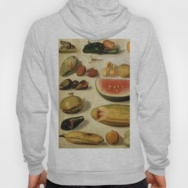 Still Life with Fruit (with Scorpion and Frog) Hoody
