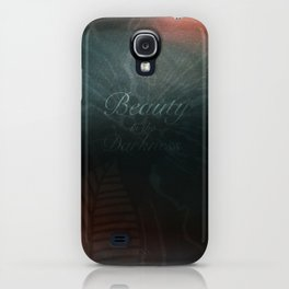 Beauty in the Darkness iPhone Case