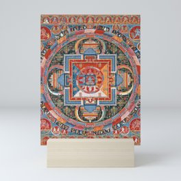 Mandala of Jnanadakini Mini Art Print