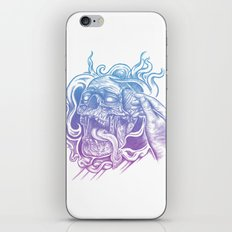 Painted Skull iPhone Skin