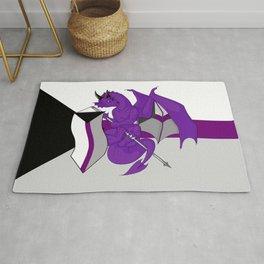 Pride Dragons - Demisexual Flag Rug