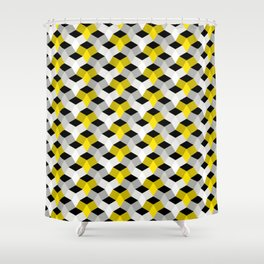 Diamonds In The Rough - Design 2 Shower Curtain