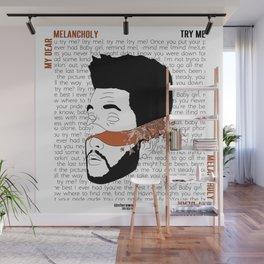 My Dear Melancholy, Wall Mural