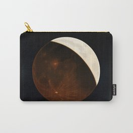 Partial Eclipse of the Moon by Etienne Leopold Trouvelot Carry-All Pouch