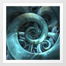 Gone Spiral Art Print