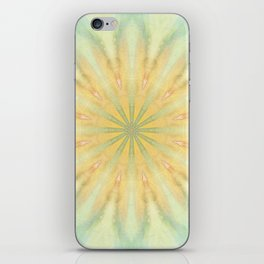 Tye Dye Flower Mandala iPhone Skin