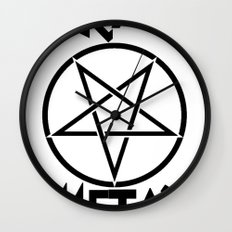 SLEAZE METAL Wall Clock
