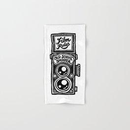 Analog Film Camera Medium Format Photography Shooter Hand & Bath Towel