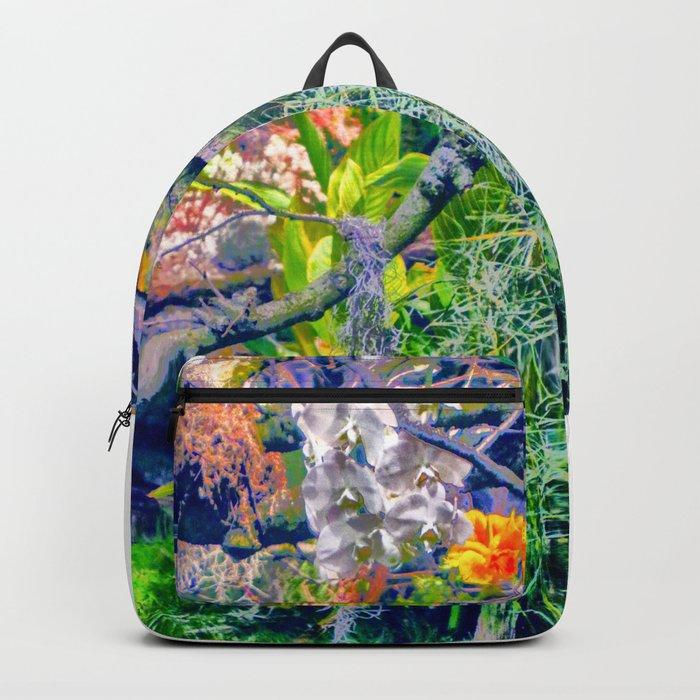 Tropical Garden Rucksack