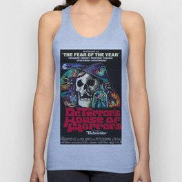 House of Horrors, doctor Terrors, vintage horror movie poster Unisex Tank Top