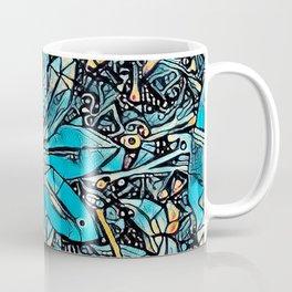 Clematis Blue Fantasia Coffee Mug