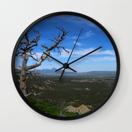 Overlooking The Valley Wall Clock