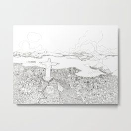 Rio di Janeiro Metal Print