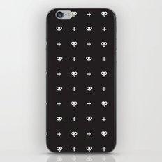 Black Hearts Plus iPhone & iPod Skin
