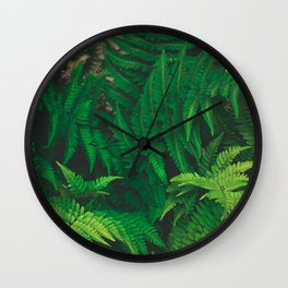 Leaf jungle Wall Clock