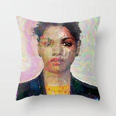 M.I.A Throw Pillow