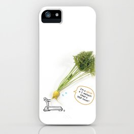 I'm A Carrot & I Workout! iPhone Case