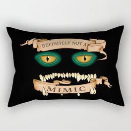 Definitely not a Mimic Rectangular Pillow