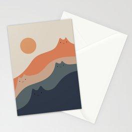 Cat Landscape 90 Stationery Cards
