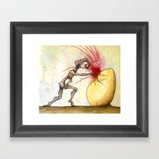 Mercuriosity Framed Art Print