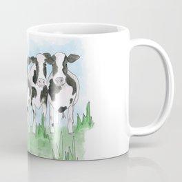 A Field of Cows Coffee Mug