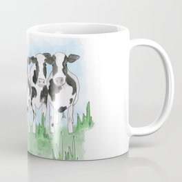 A Field of Cows Coffee Mug