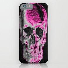 Pink Skull Slim Case iPhone 6s