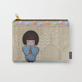 kokeshi seigai Carry-All Pouch