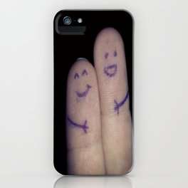 Finger friend  iPhone Case