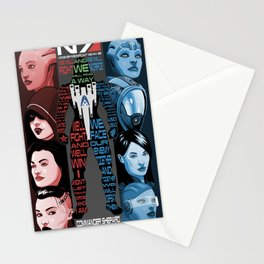 N7: The Female Squad Stationery Cards